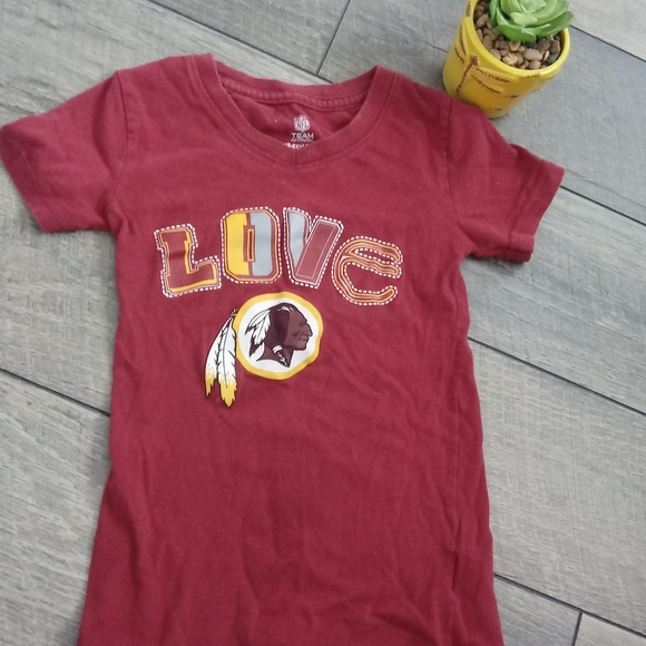 on sale 54198 769f9 redskins shirts for girls